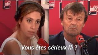 La réaction hallucinée de Léa Salamé à la démission de Hulot était spontanée, comme souvent