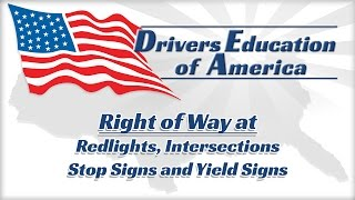 Definitive Guide To Learning The Right Of Way!  Adult Drivers Ed Online Illinois