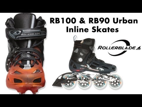 RB100 & RB90 Urban Inline Skates Review