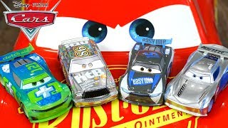 New Disney Cars Clutch Aid Next Gen Silver Edition Jackson Storm Chick Hicks with Story Sets Piston