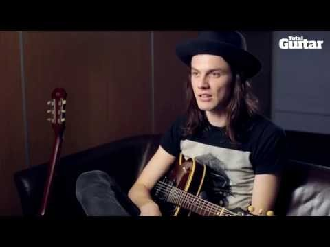 James Bay interview: Dropped guitar tuning on Epiphone Century