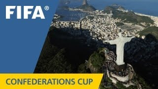 Brazil is ready for the Confederations Cup!