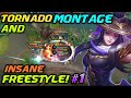 FANNY TORNADO MONTAGE AND FREESTYLE COMPILATION BY YOU  Episode  1