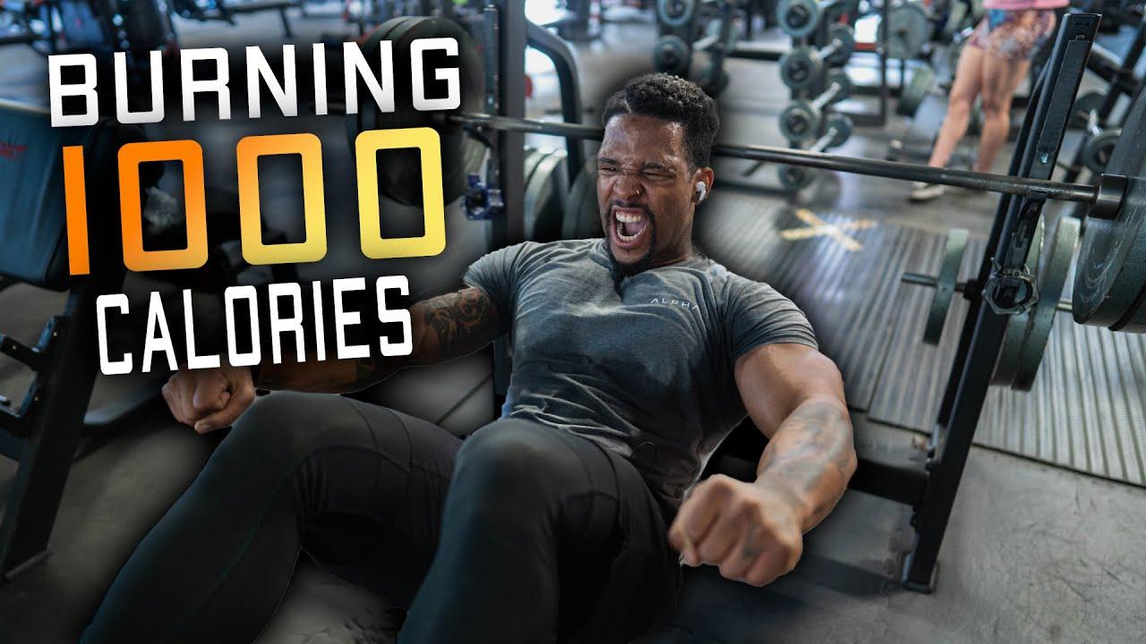 I Can't Leave Gym Until I Burn 1000 Calories