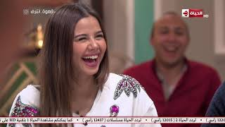 مواصفات فتى أحلام منة عرفة.. وويزو ترد: كنت عاوزة فرارجي.. فيديو
