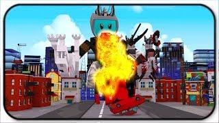Battling The King Of Monsters - Roblox Godzilla Simulator