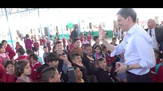 David Miliband Witnesses The Crisis In Northern Iraq