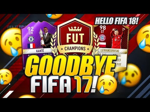 GOODBYE FIFA 17....
