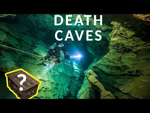 FOUND TREASURE IN UNDERWATER DEATH CAVE?