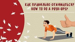 Как правильно отжиматься? Видео Дзюдо Дети #4 | How to do a push-ups? Video of Judo Kids #4