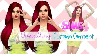 The Sims 4: How To Install Custom Content (Mac)