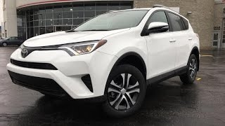 2017 Toyota RAV4 LE FWD Standard Package - Brampton ON - Attrell Toyota