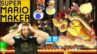 The Worst Decision I've Ever Made // SUPER EXPERT NO SKIP [#18] [SUPER MARIO MAKER]