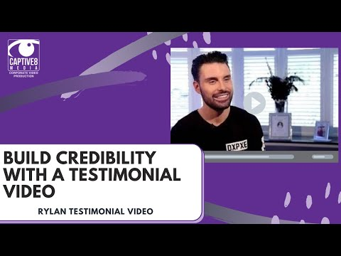 Customer Testimonial Case Study Video Production - Rylan Clark, Thomas Sanderson