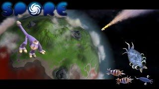 Мультфильм игра для детей Spore Космические приключения. Этап Клетка