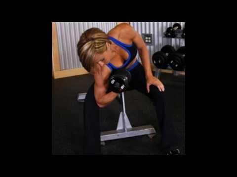 bíceps bend concentrado objection mancuernas