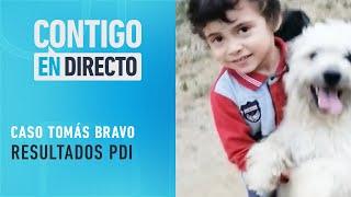 RESULTADOS: Policías revelaron que sangre encontrada no pertenece a Tomás Bravo - Contigo en Directo