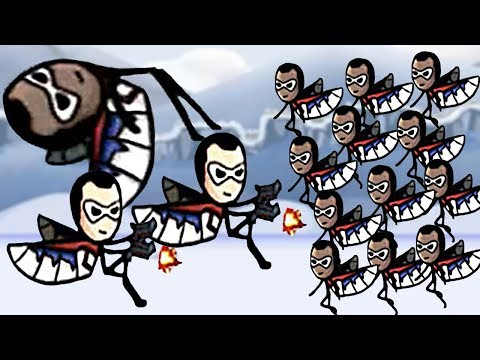 NEW Unlocked CONDOR & Skill Flying Attack- HERO WARS Super Stickman Defense