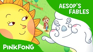 Video The Sun and the Wind | Aesop's Fables | PINKFONG Story Time for Children download MP3, 3GP, MP4, WEBM, AVI, FLV Maret 2018