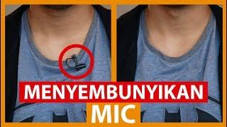 Cara Menyembunyikan Mic Clip On | Tutorial Videografi