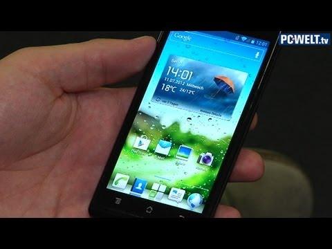 Huawei Ascend P1 im Test-Video