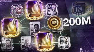 Best UPDATE & Biggest UPGRADE Team for 200M COINS - 129 OVR! - FIFA MOBILE 19