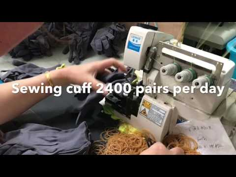 Nano-Metre packing gloves video