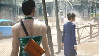 チャイナドレスを路上で商売している会社員から2万円で購入。ムダ毛の無...