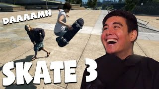 I COULD NOT STOP LAUGHING AT THIS GAME | Skate 3 (Funny moments)