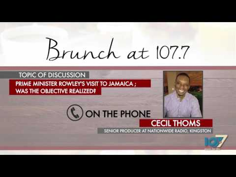 """Prime Minister Rowley's Visit To Jamaica; Was The Objective Realized?"""