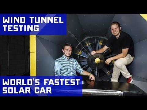 Wind Tunnel Testing the PROVE Lab Solar Car