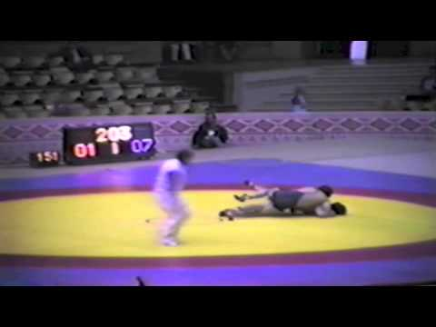 1983 Senior World Championships: 74 kg Unknown vs. Taram Magomadov (USSR)