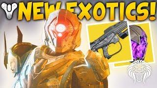 Destiny 2: NEW EXOTICS, LEVEL CAP & RAID CONTENT! Vault of Glass, Lighthouse Vendor & Time Travel