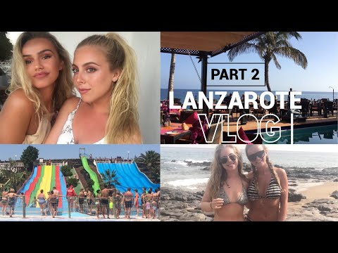 FOLLOW US IN LANZAROTE | PART 2 VLOG | SYD AND ELL
