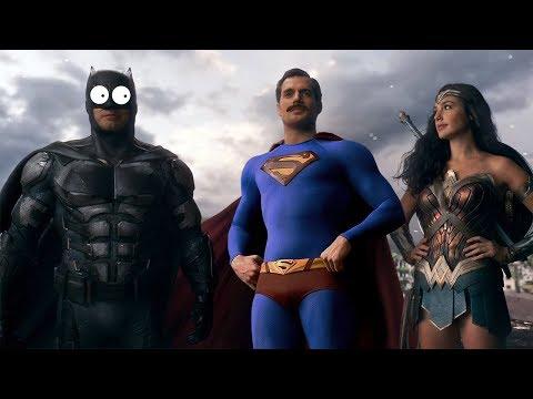 Лига справедливости за 5 минут (Переозвучка, смешная озвучка, не Гоблин) - Лучшие видео поздравления в ютубе (в высоком качестве)!