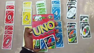 How To Play UNO Card Game In Hindi | India | HD