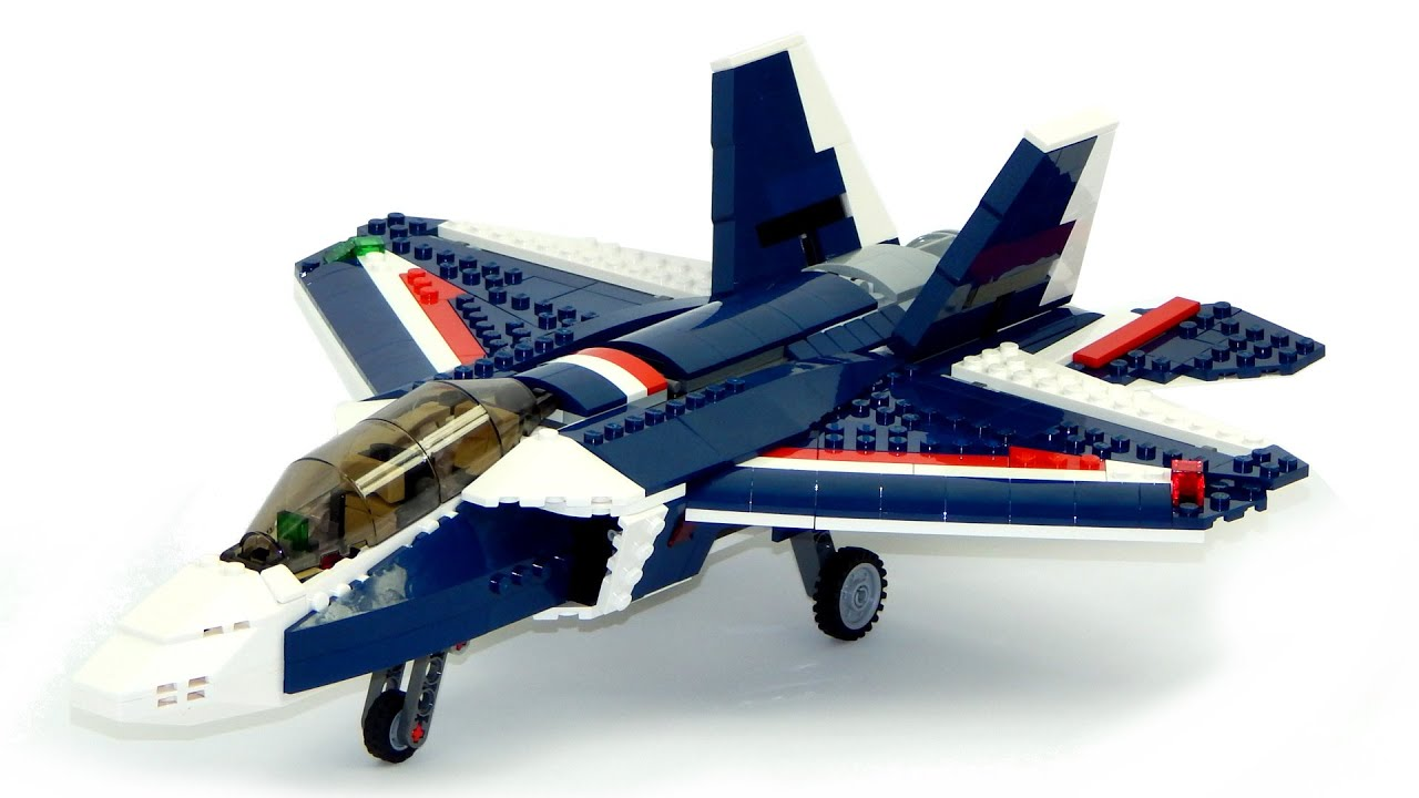 Jet Privato Lego : Lego creator blue power jet speed build and review