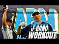 Full Body Baseball Workout Using J-Bands - Arm Care Exercises For Baseball Players
