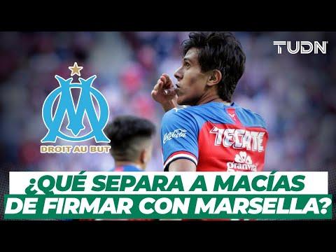 ¡JJ Macías está muy cerca del Marsella! ¿Está listo para emigrar a Europa?   TUDN