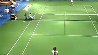 東レPPOテニス 1986年 グラフ初優勝