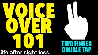 Voice Over 101: The 2 Finger Double Tap Gesture | Life After Sight Loss
