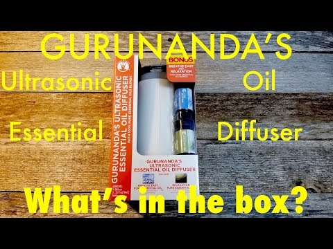 gurunanda's-ultrasonic-essential-oil-diffuser-unboxing