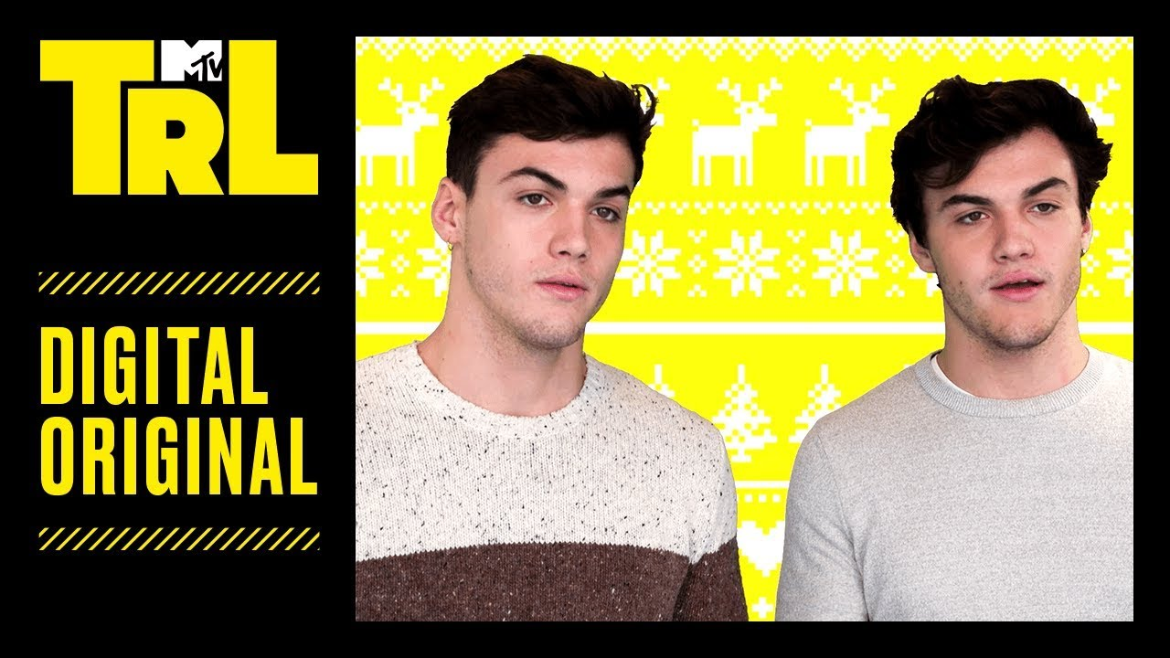 Ugly Christmas Sweaters Are Over\' PSA ft. The Dolan Twins, Liza ...