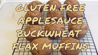 Gluten Free Applesauce Buckwheat Flaxseed Muffins & A Visit From Ricky