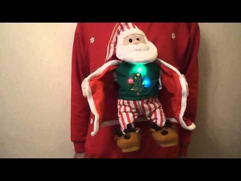 Musical Christmas Jumper - Singing Dancing Flashing