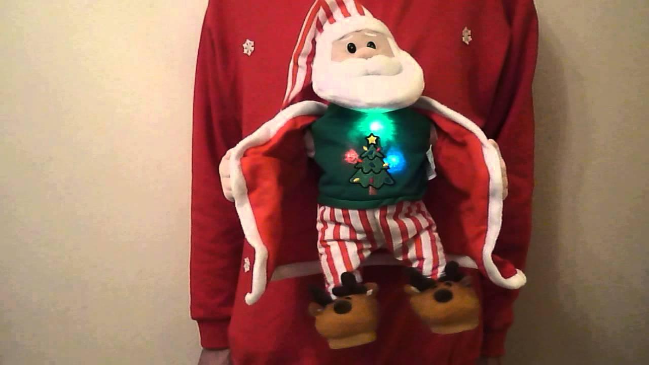 Musical Christmas Jumper Singing Dancing Flashing Youtube