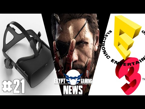 EGN episode 21 - Oculus Rift announcements, MGS5 Micro-transactions and E3 HYPE !!