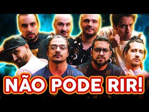 NÃO PODE RIR - com 4 AMIGOS de volta Thiago Ventura Afonso Padilha Diih Lopes e Marcio Donato