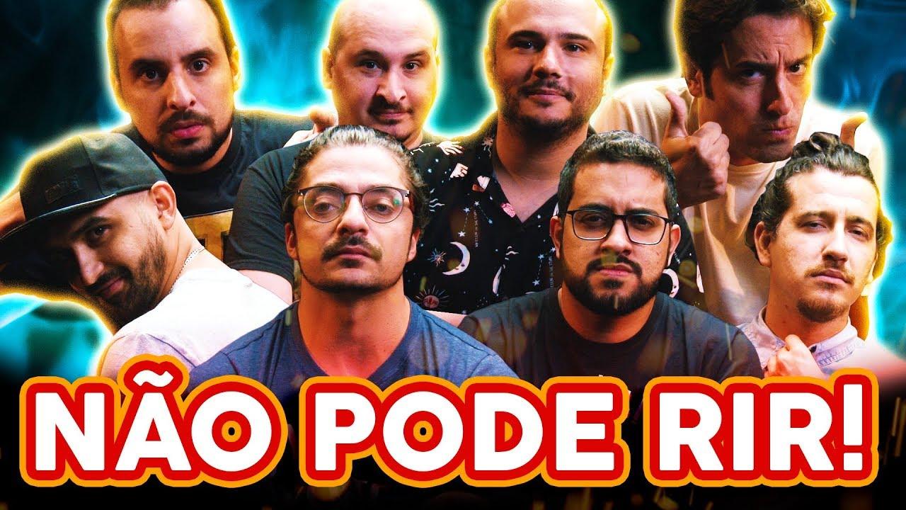 NÃO PODE RIR! - com 4 AMIGOS de volta! (Thiago Ventura, Afonso Padilha, Diih Lopes e Marcio Donato)
