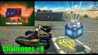 Tanki Online - Kill Juggernaut With a Mine ?! Challenges #9